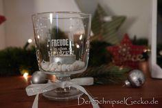 Stampin Up Wahre Weihnachtsfreude mit Stazon weiß - Deko-Glas bestempelt, Geschenkidee - Winter - Weihnachten - xmas - DerSchnipselGecko.de http://dini.derschnipselgecko.com/stampin-up-wahre-weihnachtsfreude/