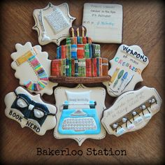 The Writer's Birthday | Bakerloo Station | Cookie Connection