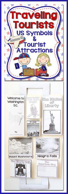U.S. American Symbols + Traveling + Passports = Fun! FUN! FUN!