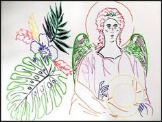 Angel of the Flowers II by Poposki