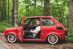 old school fiat Fiat 126, Fiat Cars, Fiat Abarth, Unique Cars, Cute Cars, Modified Cars, Retro Cars, Vintage Cars, Small Cars