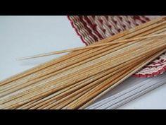 Делаем трубочки для плетения мягкими и эластичными - YouTube