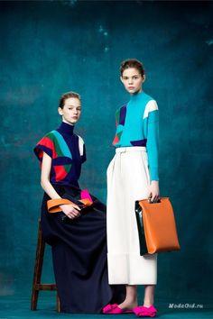Женская мода: Delpozo, Pre-Fall 2017