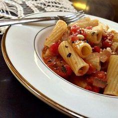 Tomato-Cream (Vodka) Sauce for Pasta Allrecipes.com