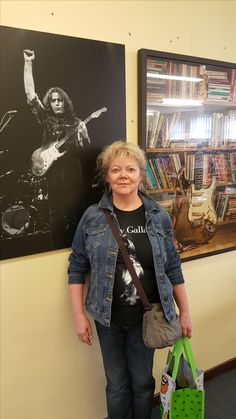 Trish in The Rory Gallagher Music Library