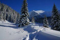 W polskich górach zima !