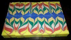 Swirly Six Soap