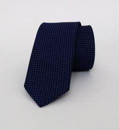 Dark Blue Necktie, Dark Blue Men's Tie, Dark Blue Cravat, Dark Blue Tie - DK312 #handmadeatamazon #nazodesign