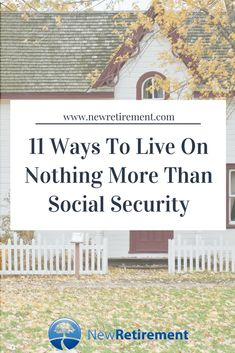 Living on Social Security alone really is possible. Get the scoop on 11 ways to make it work for your situation. Read now! Preparing For Retirement, Retirement Advice, Early Retirement, Retirement Planning, Retirement Budget, Retirement Benefits, Retirement Cards, Retirement Strategies, Social Security Benefits
