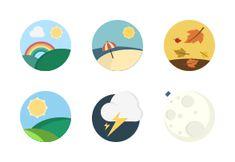 'Weather icons' by Icons Mind License Photo, Weather Icons, Iconic Photos, Thunderstorms, Icon Set, Icon Design, Symbols, Illustration