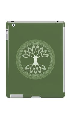 """Tree of Life - apple green"" iPad Cases & Skins by chartofthemoment.com. Tree of Life gifts available as iPhone case/skin/wallet,Galaxy case/skin/wallet, iPad case/skin, Laptop skin/sleeve, throw pillow cover,tote bag,mug,travel mug,drawstring bag,T-shirt,hoodie,sweatshirt,tank top and more on RedBubble."