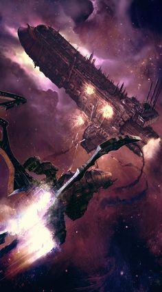 Dark Eldar ambush by Columbussage.deviantart.com on @deviantART