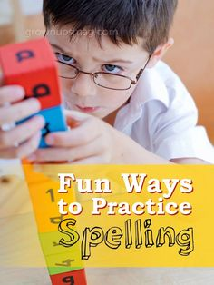 Fun Ways to Practice Spelling - Grown Ups Magazine - Spelling doesn't have to be a chore! New research gives us insight as to how to encourage good spelling study habits without rote memorization.
