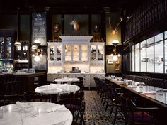 Weslodge Saloon, Toronto. Interior design by Munge Leung.
