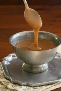 The best pourable low carb caramel sauce - this sugar-free sauce tastes like the real thing.