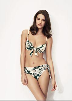 Huit Swimwear Flower Bay Underwire Padded Bikini at Pesca Boutique. - Price: $159.00