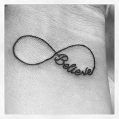My cute tattoo, many meanings, that infinity is not enough! I believe in me!!!