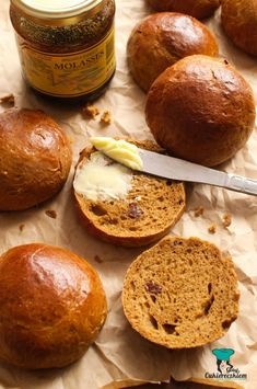 Bułka turecka czyli żulik Baked Potato, Muffin, Potatoes, Baking, Breakfast, Ethnic Recipes, Food, Breads, Christmas