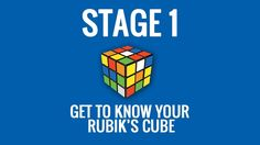 How to Solve a Rubik's Cube - Stage 1 - http://www.thehowto.info/how-to-solve-a-rubiks-cube-stage-1/