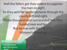 The good ole' Irish Rovers ! ! Here's a song from an album of theirs made long before I was born . . ;-) You can click here - http://www.uniquely-irish.com/irish-rovers/ if you want to see more of this Classic Album.  Hit the ole' SHARE if you Love good old Irish Music!!!