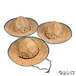 Kids' Embroidered Sombreros