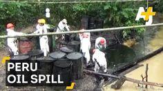 Equador/Peru - Pipeline Break Spills Oil Into Amazon Waterways