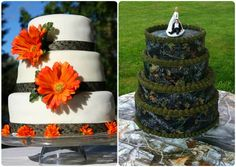 camouflage cakes pictures | Camo Wedding Ideas for Redneck Weddings |