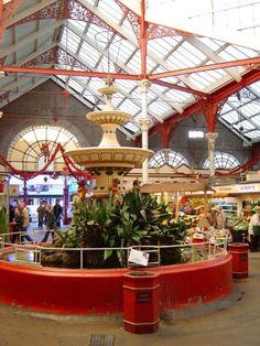 St Helier Central Market - beautiful flowers