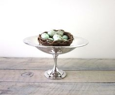 Vintage Silver Plate Compote by 22BayRoad on Etsy, $18.00