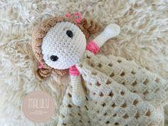 Crochet Lovey, Crochet Bebe, Knit Crochet, Crochet Hats, Baby Lovies, Dou Dou, Kit Bebe, Security Blanket, Knitting