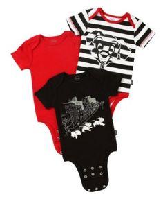 43090c80984ea0 Disney Cuddly Bodysuit Newborn Fashion 3 Pack  Dalmatians Striped