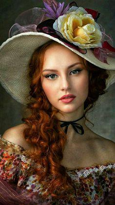 Fantasy Photography, Photography Women, Portrait Photography, Female Portrait, Portrait Art, Female Art, Beautiful Gif, Beautiful Redhead, Foto Art