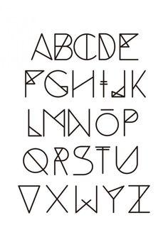 weird alphabets font - Google Search