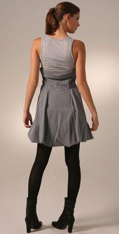 McQ Baby Doll Bubble Dress