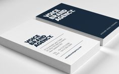 Voice Brand Agency Business Cards