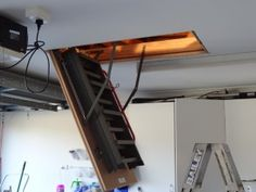 Garage Organisation and Creating More Storage – Using Roof Space Garage Organisation and Creating More Storage – Using Roof Space – There Was a Crooked House