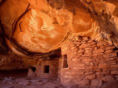 The Anasazi ruins are so vast that most have never even been explore, and are filled with archeological treasures than have never been seen by modern man. And we still have no clue as to why they simply disapeared, leaving so much behind.