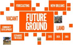 "CALL FOR TEAMS: Van Alen Institute's ""Future Ground"" land reuse competition for New Orleans 