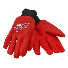 Detroit Red Wings NHL 2015 Ulitity Glove - Colored Palm