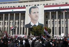 Thousands demonstrated in Syria on March 15, 2012 in support of the government of Bashar al-Assad. The gathering was designed to mark the first anniversary of the western-backed rebellion inside the country. by Pan-African News Wire File Photos, via Flickr