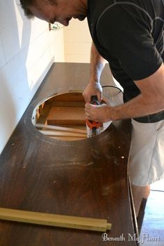 bathroom vanity 035 I am sooooo going to do this for our bathroom!!!