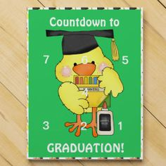 Chocolate Countdown Calendar to Preschool graduation
