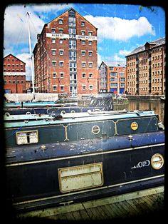 Docks in Gloucester, England