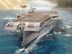 Stealth Carrier by strib.deviantart.com on @DeviantArt