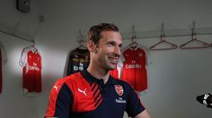 Arsene Wenger has suggested that Petr Cech can still improve as a player during his time at the club. http://www.thegunners247.uk #arsenal