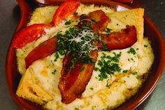 Eat your way across the state on 11 Culinary Kentucky trails and tours!   Hot brown with tomatoes. Photo: John Nation