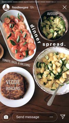 (notitle) - f o o d & d r i n k s - To eat healthy food Healthy Meal Prep, Healthy Foods To Eat, Healthy Snacks, Healthy Eating, Vegetarian Recipes, Healthy Recipes, Good Food, Yummy Food, Food Is Fuel