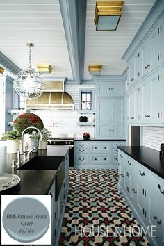 Ten of our favorite grays for the kitchen, from soft whispers of color to deep, and dramatic hues. Gray's are timeless and classic, and a favorite choice.
