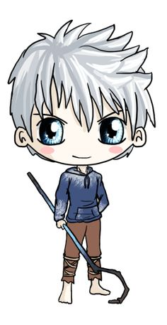 Jack Frost Chibi by IcyPanther1 on deviantART