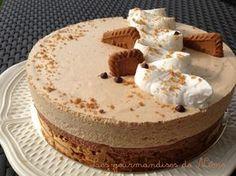 Entremet craquant mousse chocolat et spéculoos - Baking Recipes, Cake Recipes, Dessert Recipes, Thermomix Desserts, Chocolate Mousse Cake, Cake & Co, Mocca, Pastry Cake, Tupperware